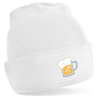 Picture of Emoji Beer Mug Beanie Hat