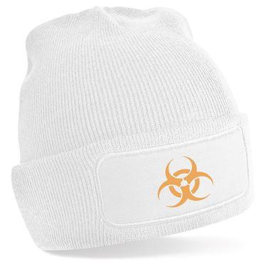 Picture of Emoji Biohazard Sign Beanie Hat