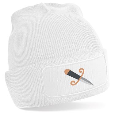 Emoji Dagger Knife Beanie Hat  Available in many colours  Free