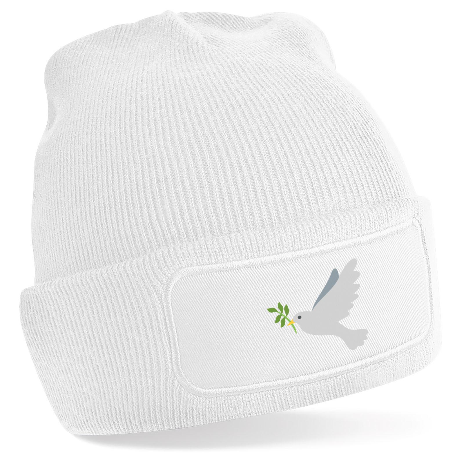 Emoji Dove Of Peace Beanie Hat