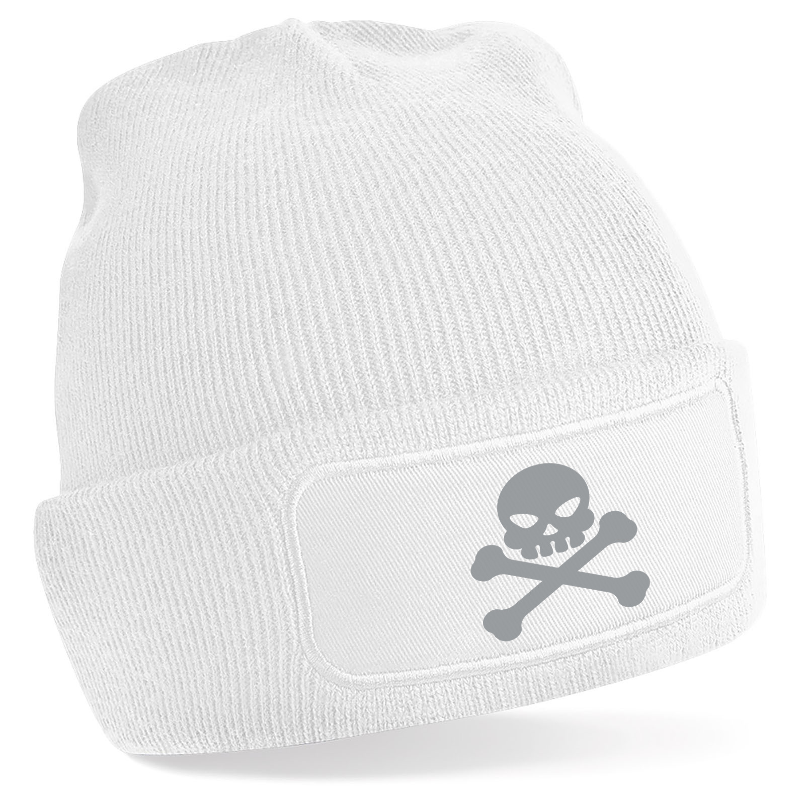 Emoji Skull And Crossbones Beanie Hat. Available in many colours ... e934645e838