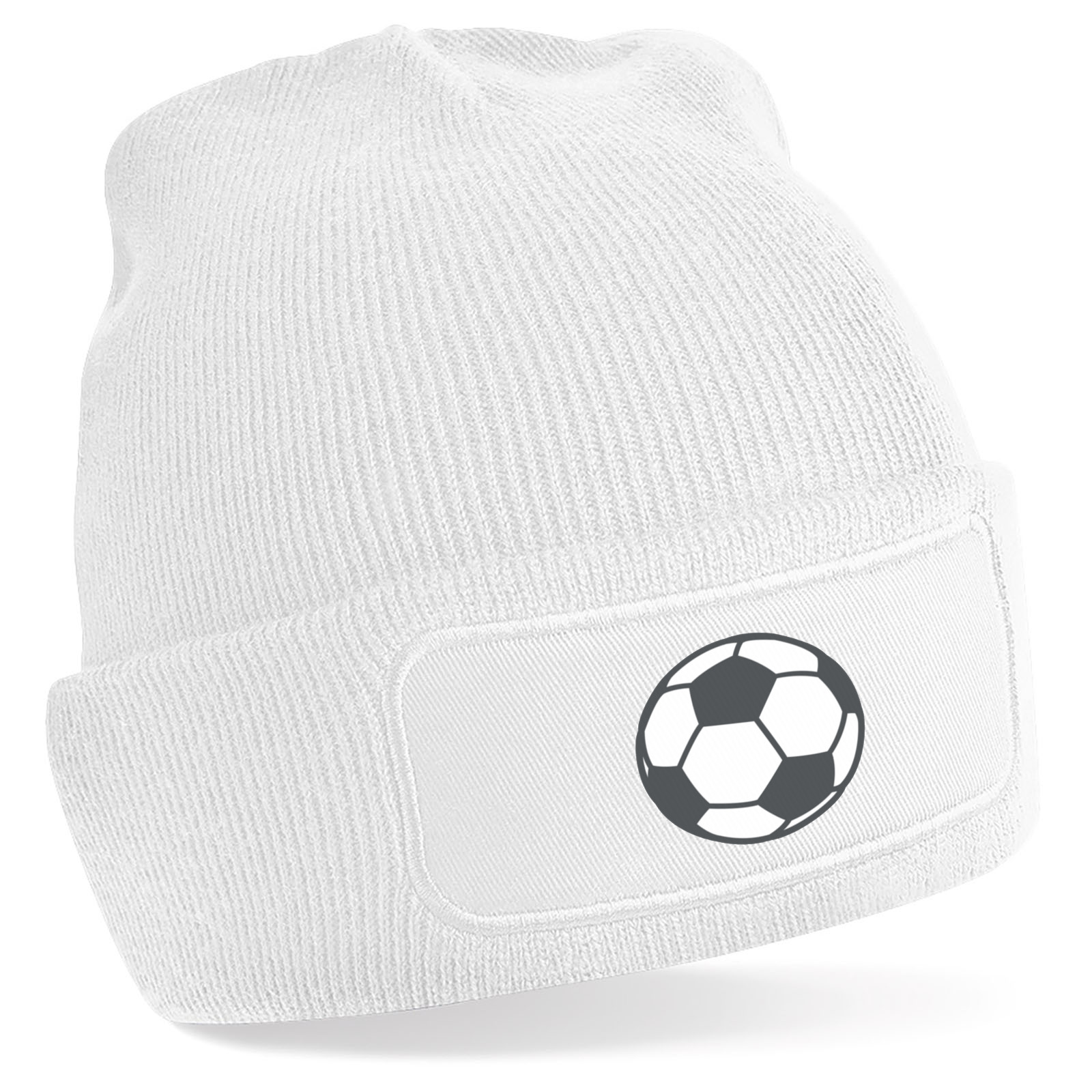8f865fba49 Emoji Soccer Ball Beanie Hat. Available in many colours. Free ...