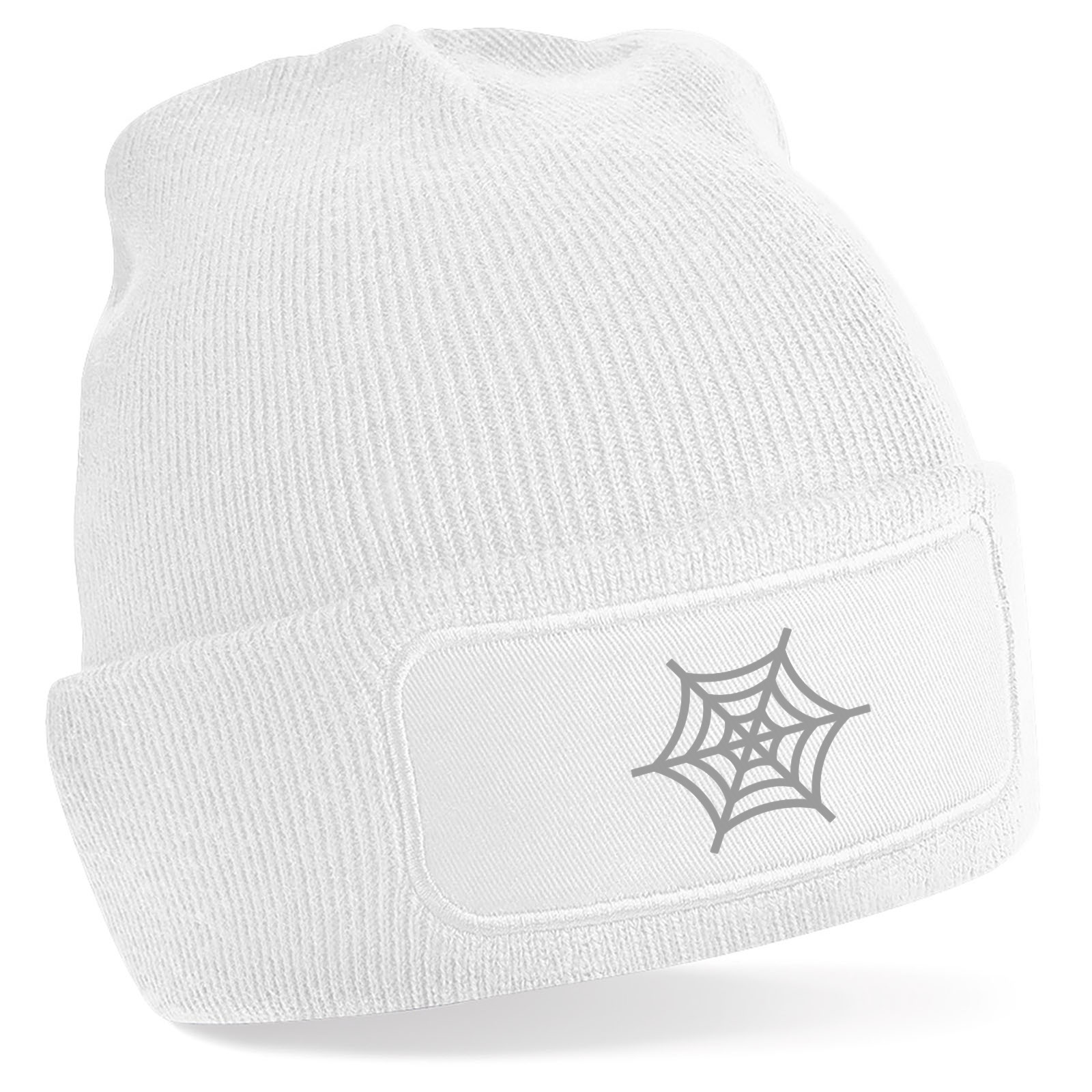 Emoji Spider Web Beanie Hat. Available in many colours. Free ... 3d58ffda1a1