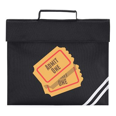 Picture of Emoji Admission Tickets Book Bag