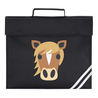 Picture of Emoji Horse Face Book Bag