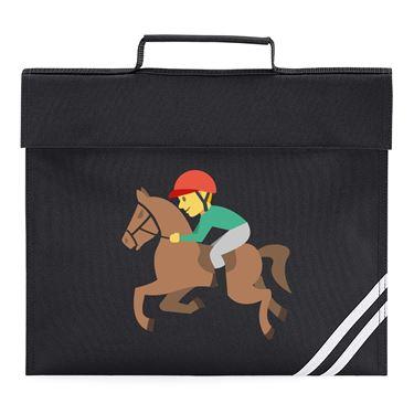 Picture of Emoji Horse Racing Book Bag