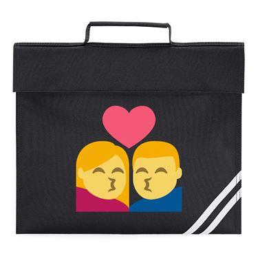 Picture of Emoji Kiss Book Bag