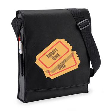 Picture of Emoji Admission Tickets Budget Messenger Bag