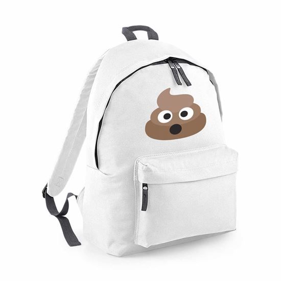 Picture of Emoji Pile Of Poo Fashion Backpack