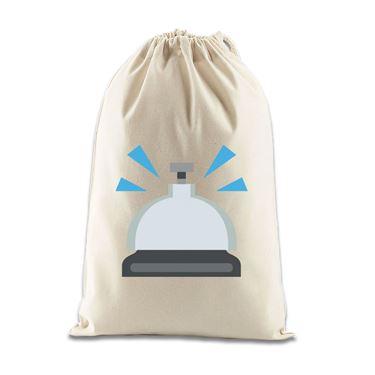 Picture of Emoji Bellhop Bell Gift Bag