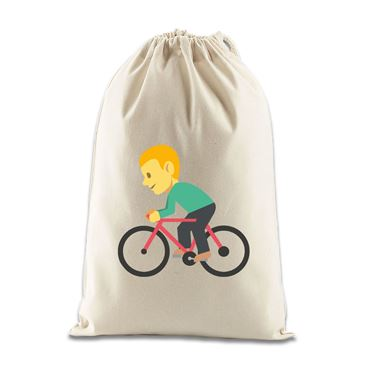 Picture of Emoji Bicyclist Gift Bag
