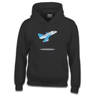 Picture of Emoji Airplane Departure Girls Hoodie