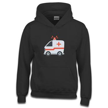Picture of Emoji Ambulance Girls Hoodie