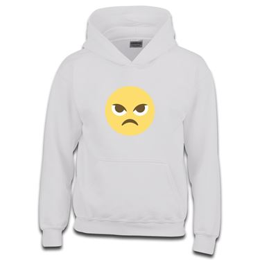Picture of Emoji Angry Face Girls Hoodie