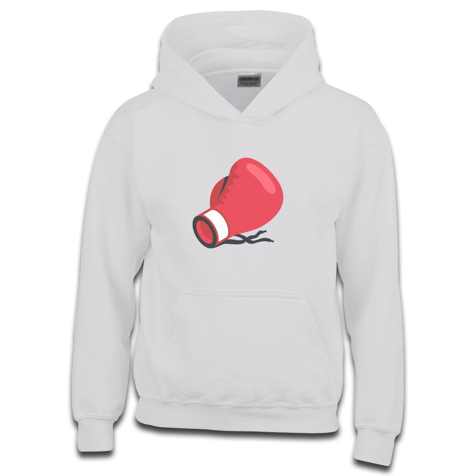 emoji boxing glove girls hoodie available in many colours free