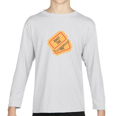 Picture of Emoji Admission Tickets Girls Long Sleeve Tshirt