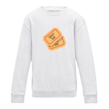 Picture of Emoji Admission Tickets Girls Sweatshirt