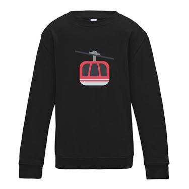 Picture of Emoji Aerial Tramway Girls Sweatshirt