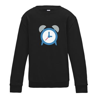 Picture of Emoji Alarm Clock Girls Sweatshirt