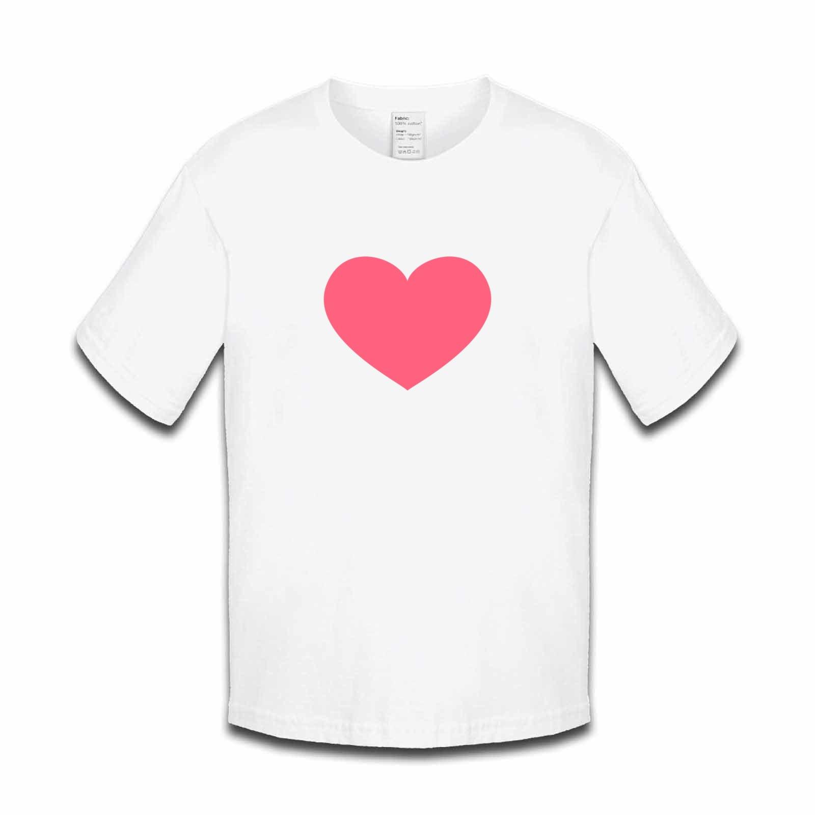 035add1b6223 Emoji Heavy Black Heart Girls Tshirt. Available in many colours ...
