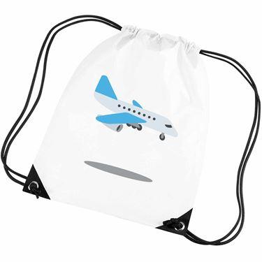 Emoji Airplane Arriving Gym Bag 7a724a74c019d