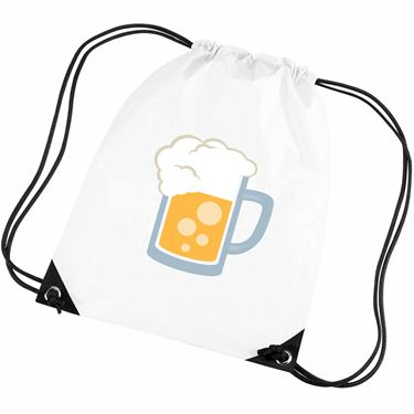 Picture of Emoji Beer Mug Gym Bag
