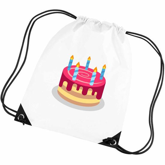 Emoji Birthday Cake Gym Bag Available In Many Colours Free