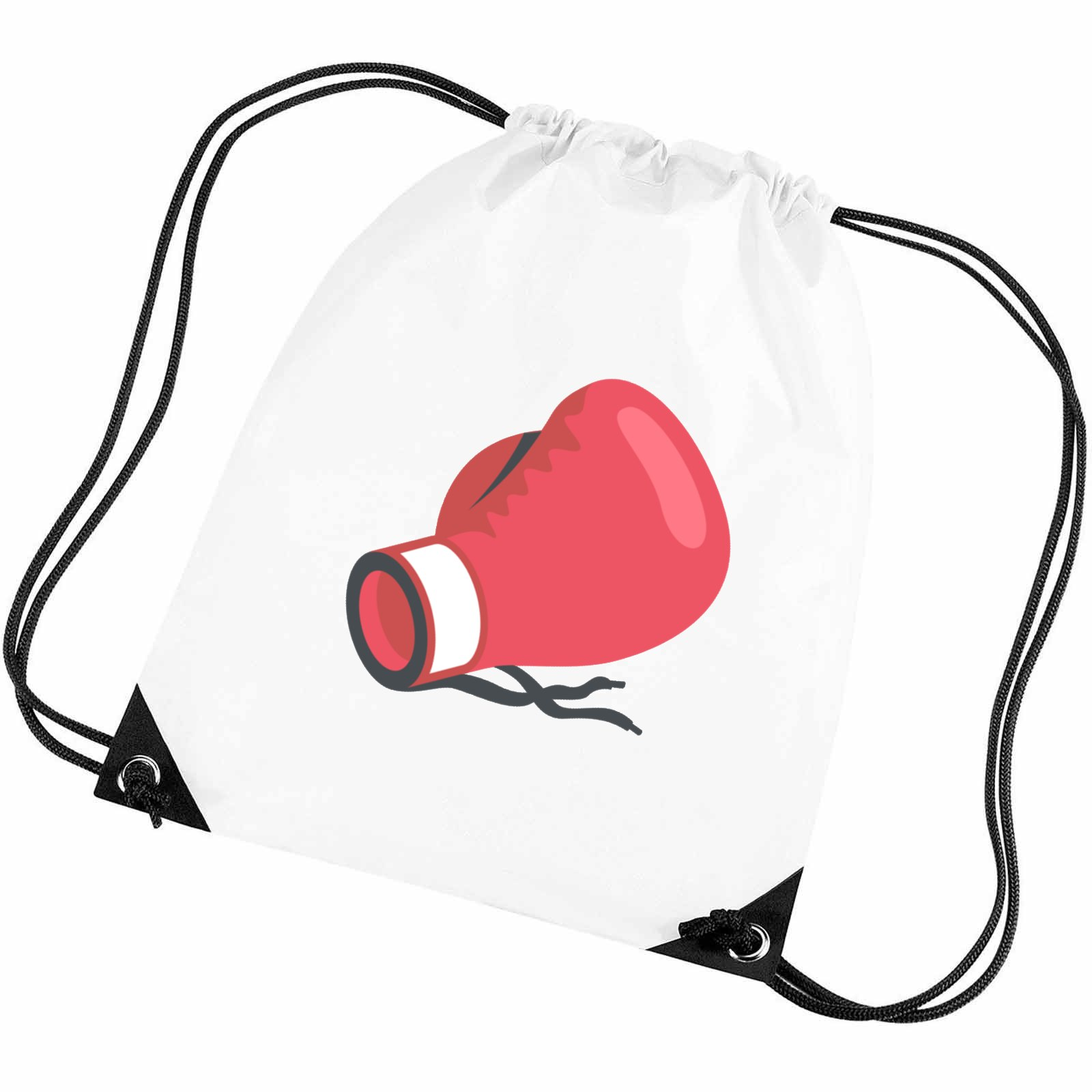 emoji boxing glove gym bag available in many colours free delivery