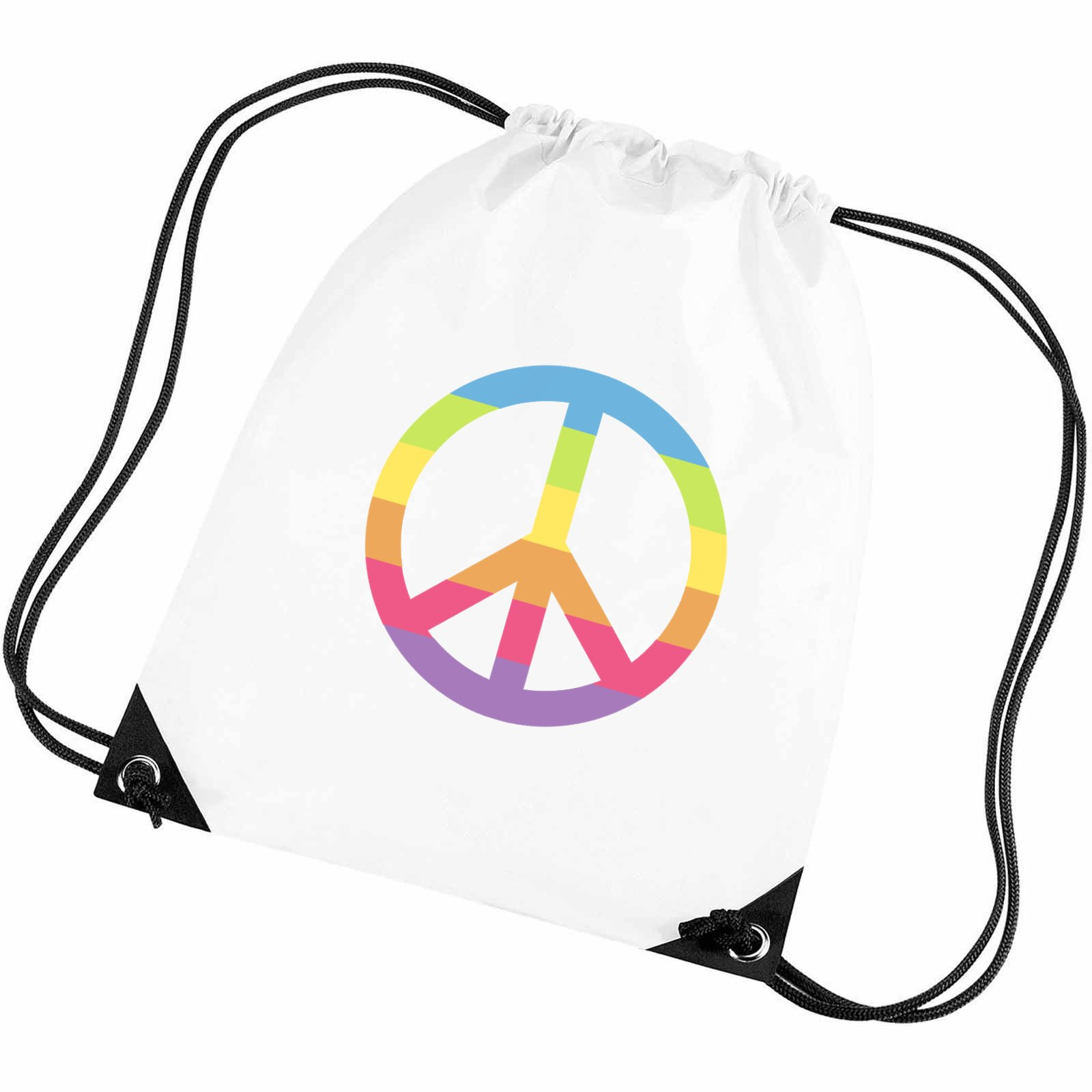 Emoji Peace Symbol Gym Bag Available In Many Colours Free Delivery