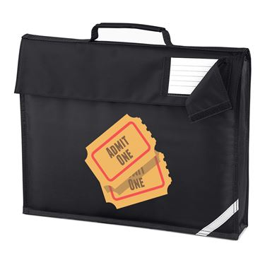 Picture of Emoji Admission Tickets Homework Bag