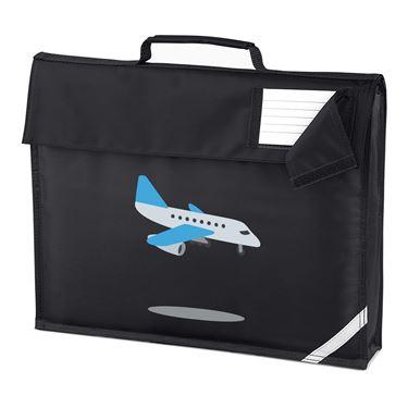 Emoji Airplane Arriving Homework Bag 24d9d8aa00a48