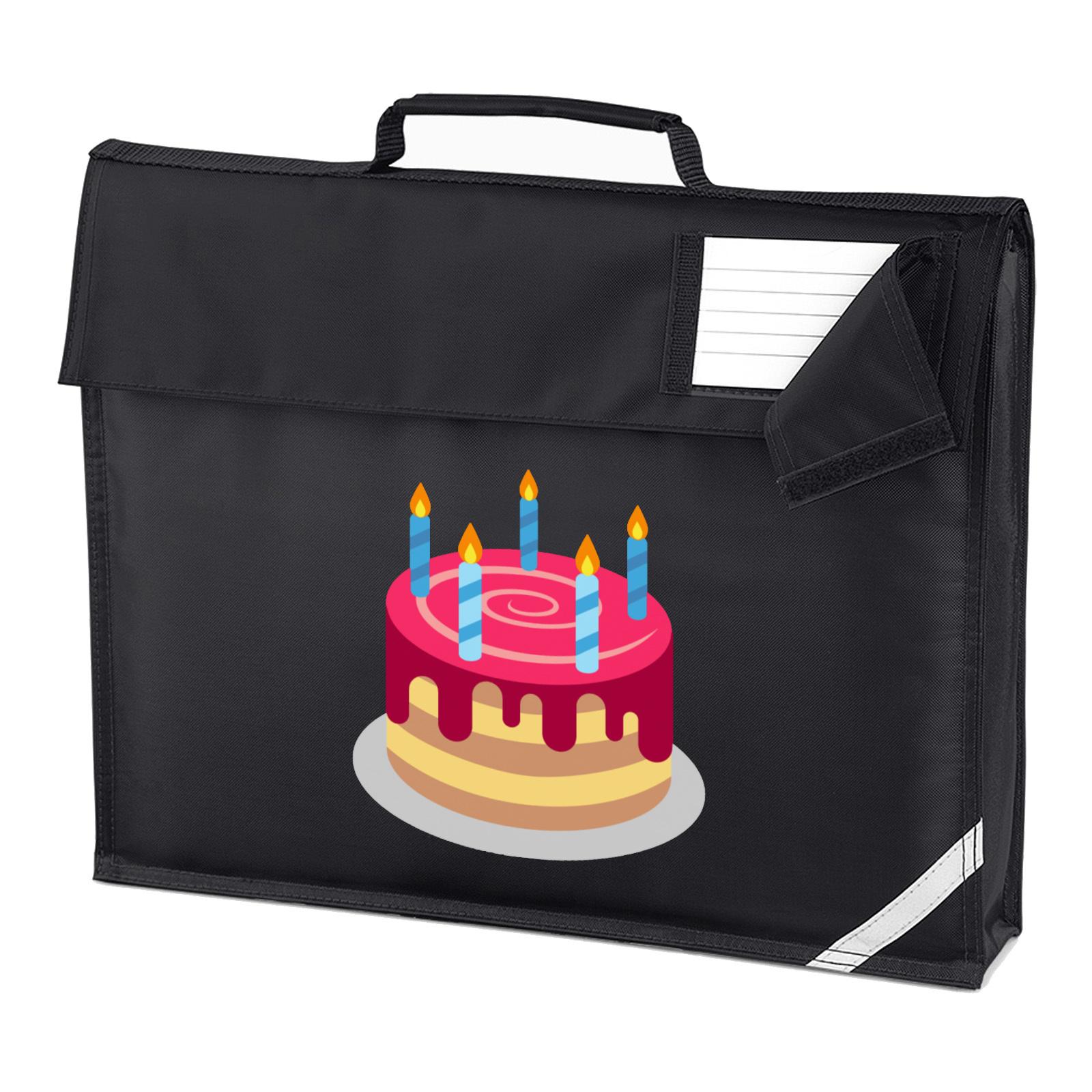 Picture Of Emoji Birthday Cake Homework Bag