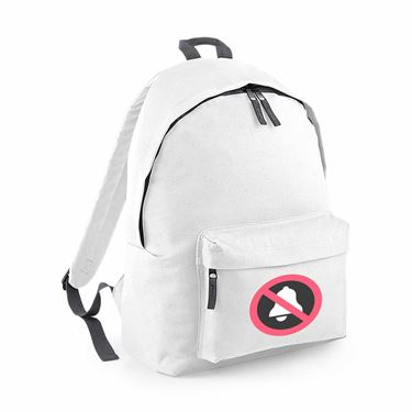 Picture of Emoji Bell With Cancellation Stroke Junior Backpack
