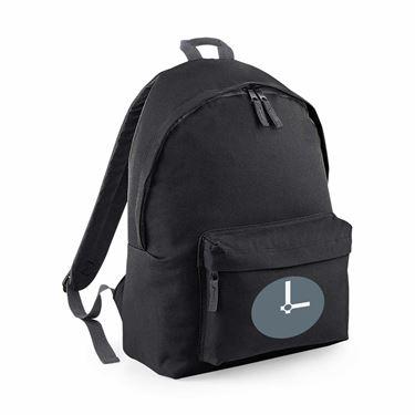Picture of Emoji Clock Face Three Oclock Junior Backpack