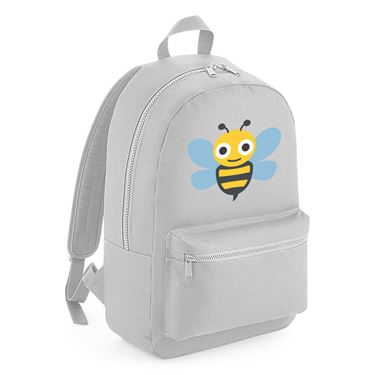 Emoji Honeybee Junior Backpack  Available in many colours  Free