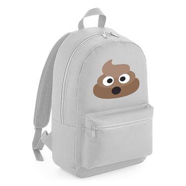 Picture of Emoji Pile Of Poo Kids Backpack
