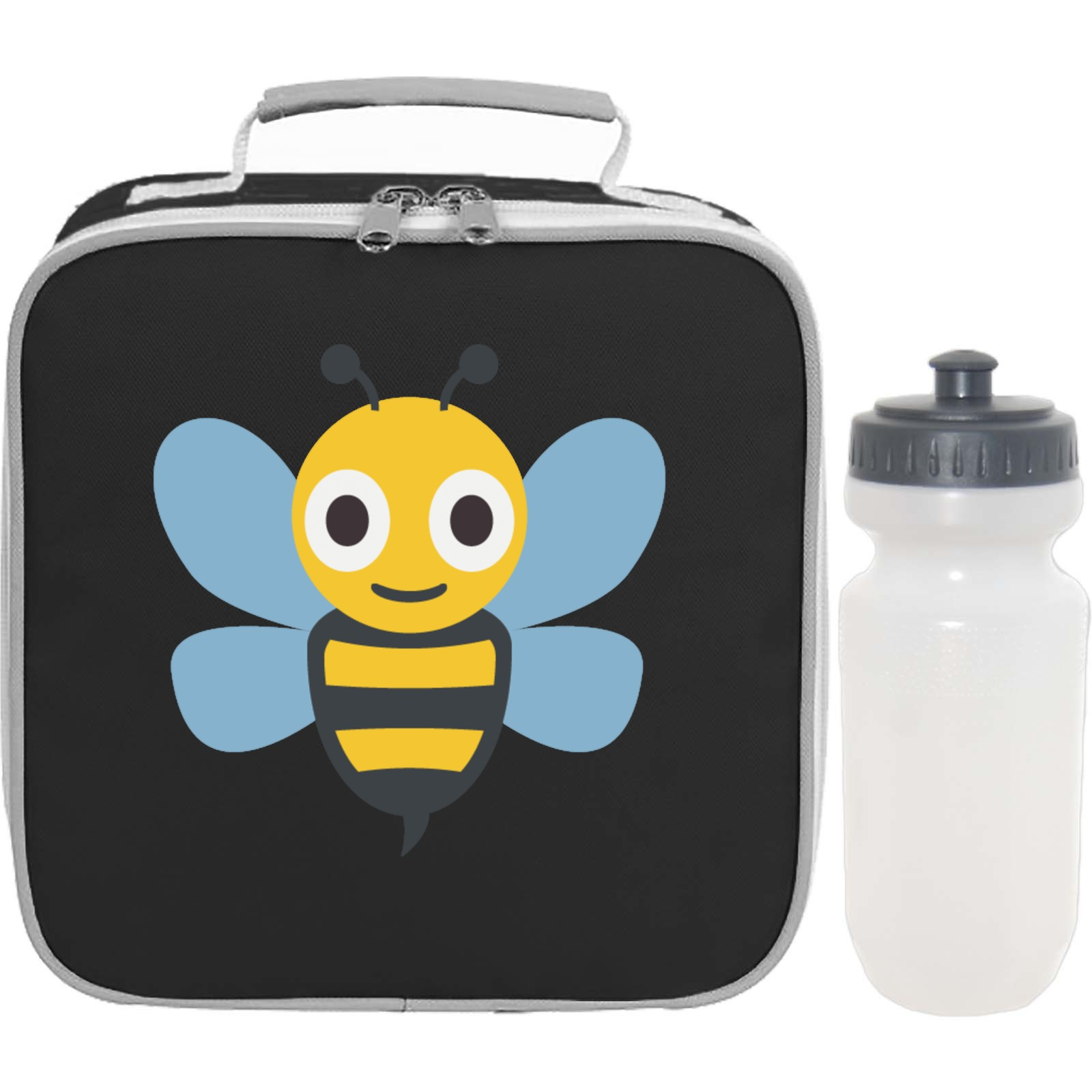 Emoji Honeybee Lunch Bag And Bottle