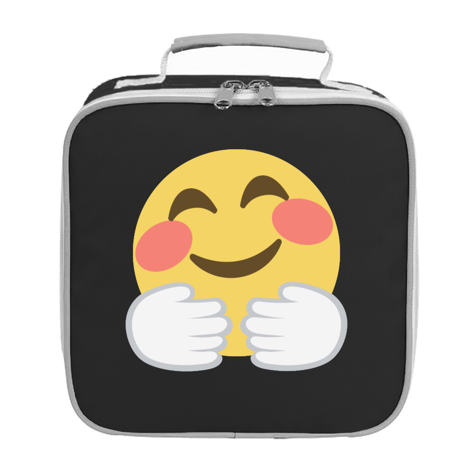 Emoji Hugging Face Lunch Bag Available In Many Colours Free Huging Sponge Picture Of