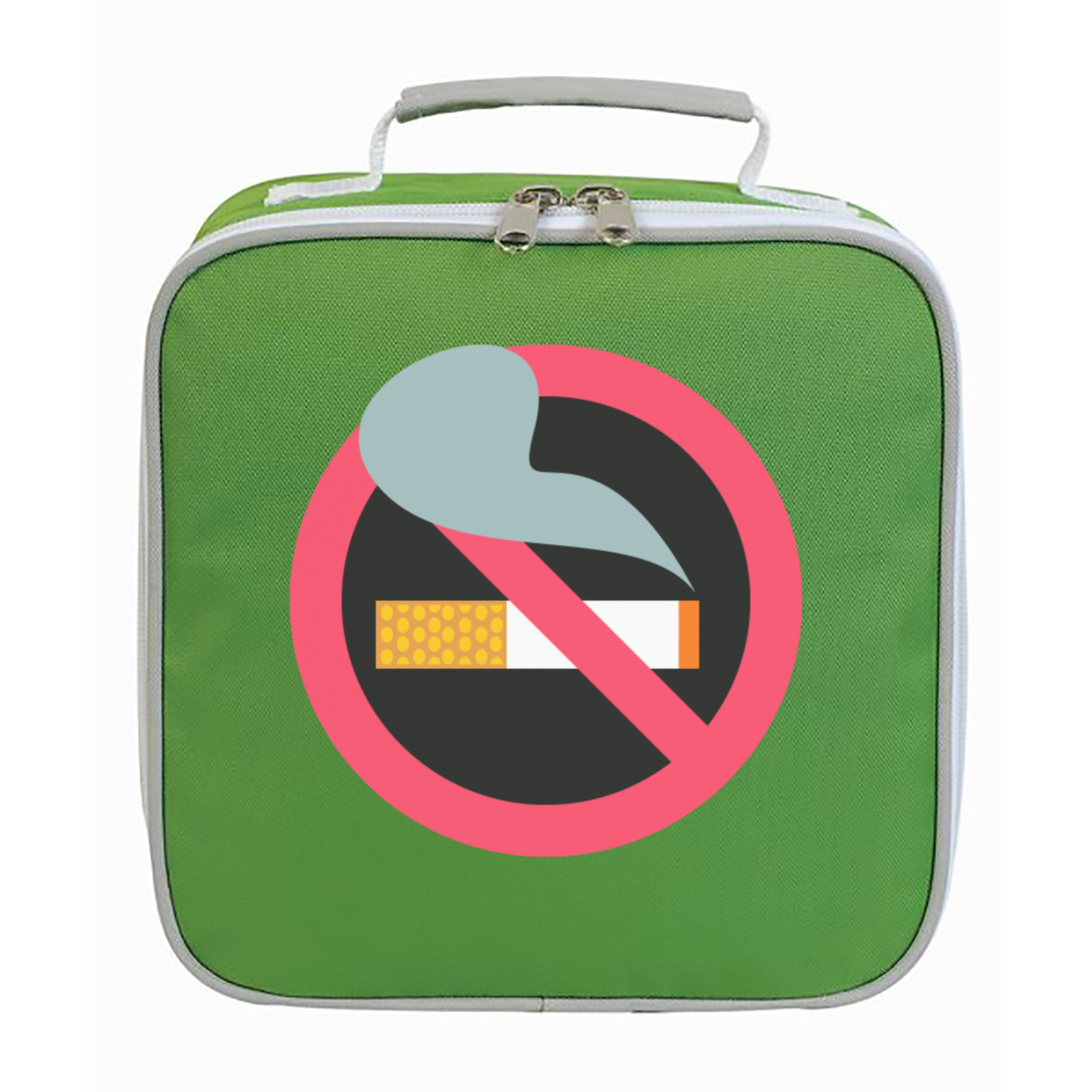 Emoji no smoking symbol lunch bag available in many colours free picture of emoji no smoking symbol lunch bag biocorpaavc Image collections