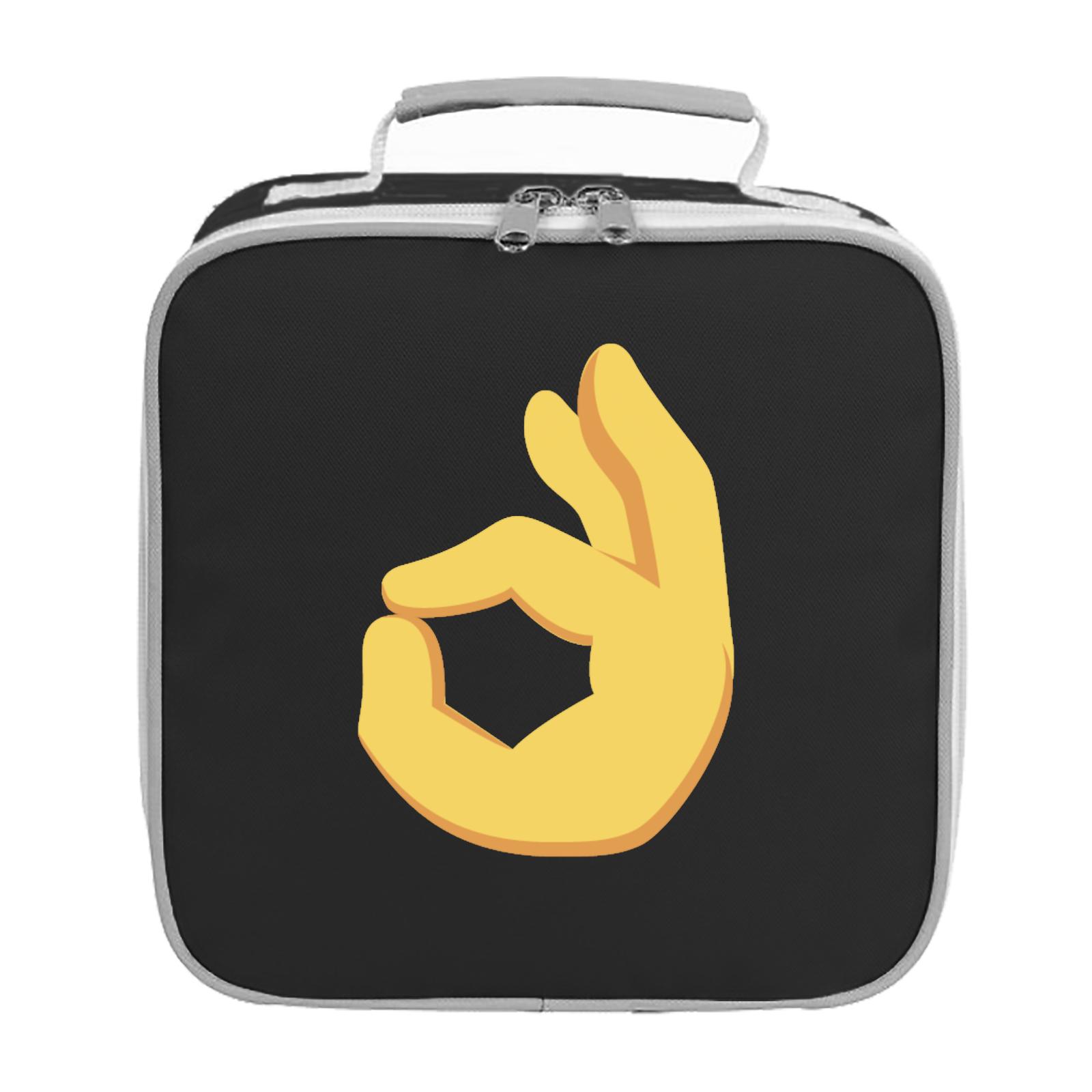 Emoji Ok Hand Sign Lunch Bag Available In Many Colours Free