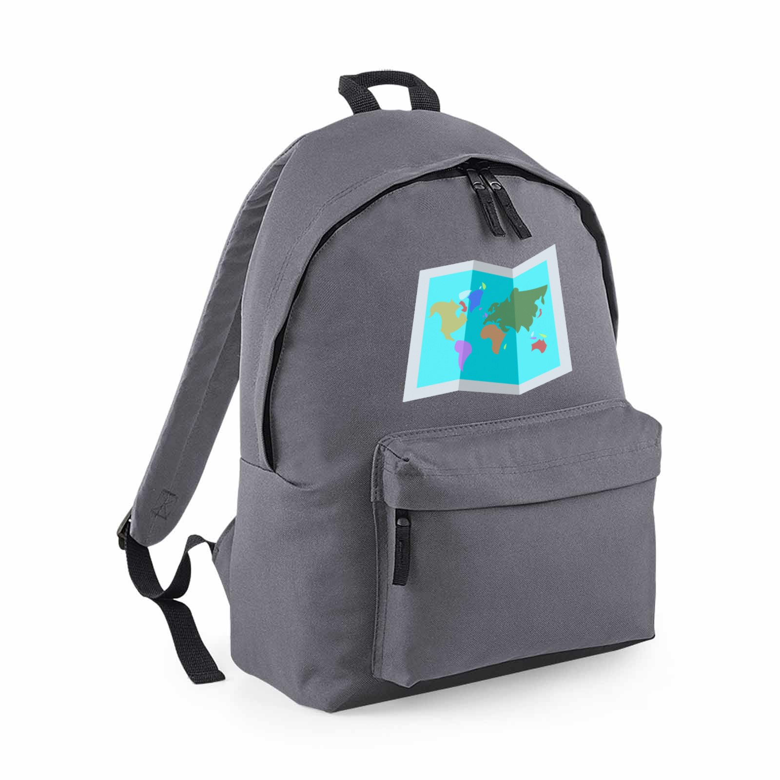 Emoji World Map Maxi Backpack Available In Many Colours Free