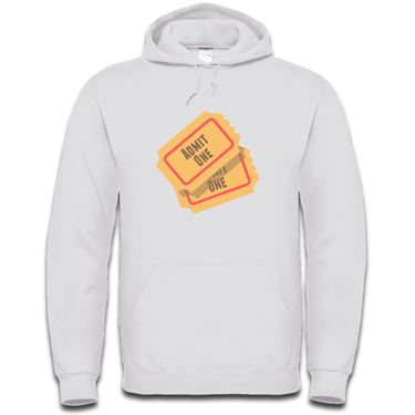 Picture of Emoji Admission Tickets Mens Hoodie