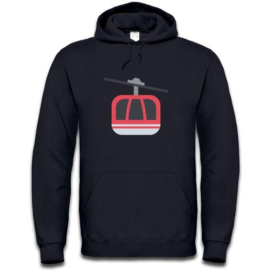 Picture of Emoji Aerial Tramway Mens Hoodie