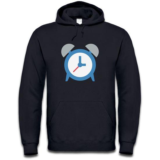 Picture of Emoji Alarm Clock Mens Hoodie