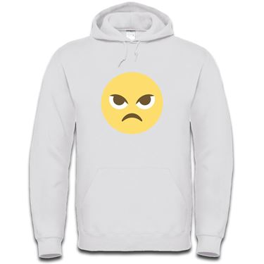 Picture of Emoji Angry Face Mens Hoodie
