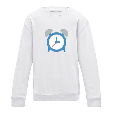 Picture of Emoji Alarm Clock Mens Sweatshirt