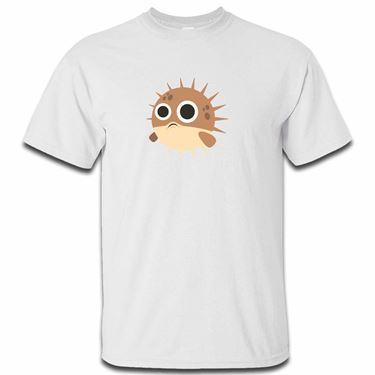 Picture of Emoji Blowfish Mens Tshirt