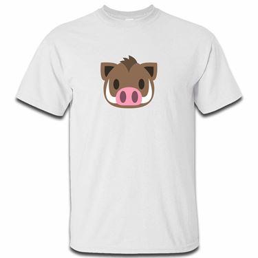 Picture of Emoji Boar Mens Tshirt