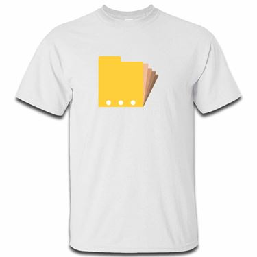 Picture of Emoji Card Index Dividers Mens Tshirt