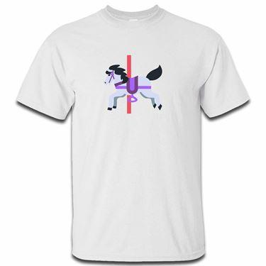 Picture of Emoji Carousel Horse Mens Tshirt